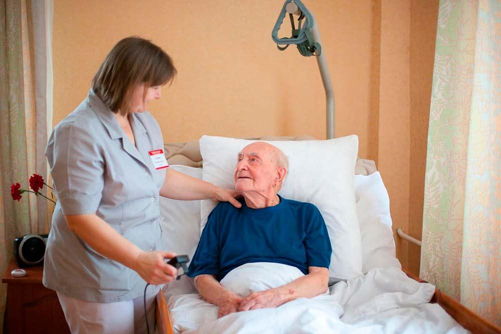 Уход за лежачими больными в пансионатах